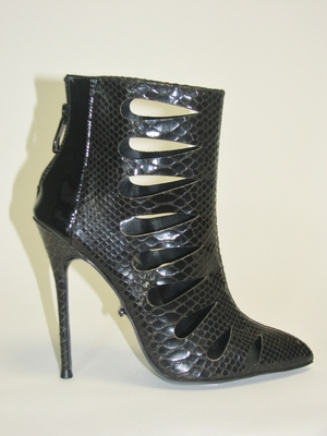 "4.5"" Metal Cover Ankle Bootie * FIERCE-31-SM"