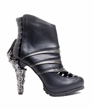 "5"" Futuristic Cyber Ankle Boots * SIDHE"