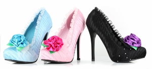 "5"" Satin Pump  * 517-PENELOPE"