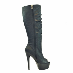 "6"" Knee High Boot * AMBER-91"