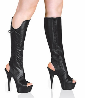 "6"" Platform Knee Boot * TS-O-2"