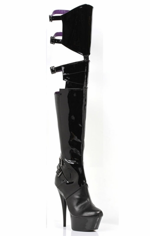 "6"" Thigh High Stretch Boots * 609-FELICIA"