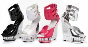 "6"" Wedge With Ankle Strap * 610-MIRA"