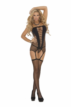 Camisette, G-String And Stockings * 1525