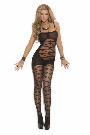 Criss Cross Bodystocking * 1603