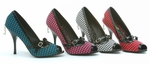 Fabric Peep Toe Pump * PH311-BETTY-SUE