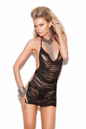 Fringe Mini Dress  * 8661