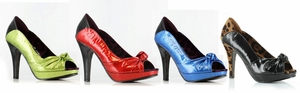 "5"" Hot-Rod Peep Toe Pump * BP412-SERENA"