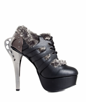 Industrial Metal Butterfly Heel With Back Armor * MONARCH