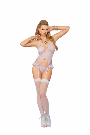 Lace Camisette and G-String * 88036