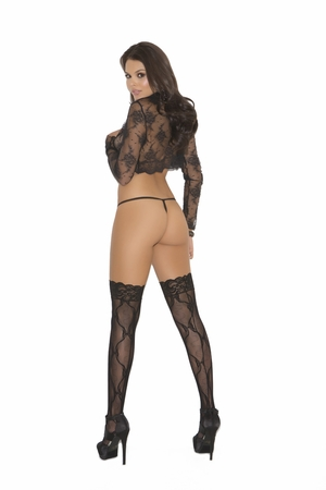 Lace Thigh Hi * 1729Q