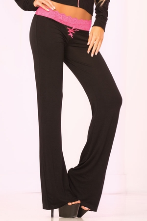 Lace Trim Lounge Pant * 24010