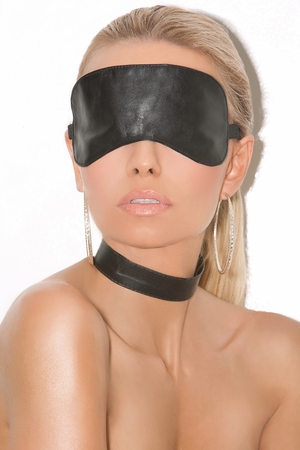 Leather Blindfold * L9152