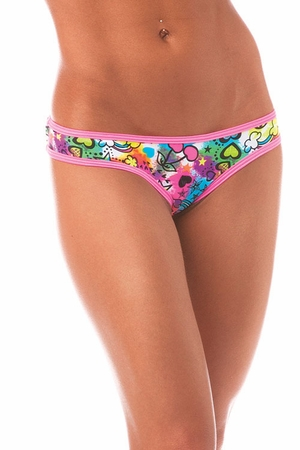 Scrunch Hip Half Back * PR1156