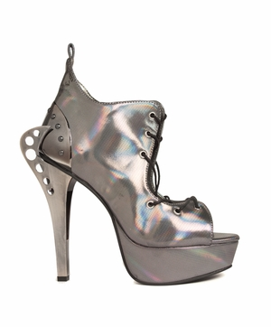 Steampunk Double Plated Butterfly Heel * STELLAR