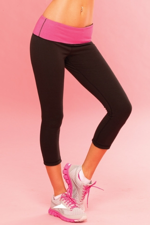 Strike A Pose Reversible Yoga Pant * 26014