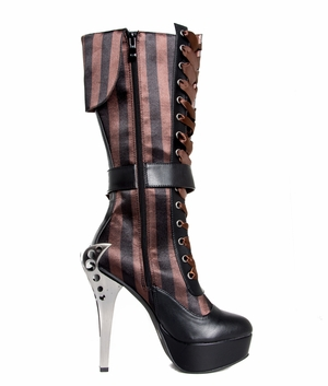 Victorian Knee High Boots * ETHEREAL