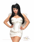 4 PC Burlesque Angel Costume