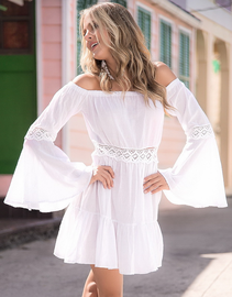Angelic White Beach Summer Dress