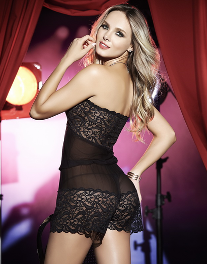Anything For You Lace Babydoll Romper