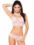 Be My Baby Pink Cami, Panty & Anklet Set