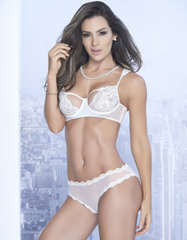 Blushing Beauty Lace Bra & Panty Set