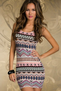 Bohemian Nights Mini Dress