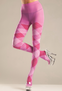 Bubble Gum Argyle Tights