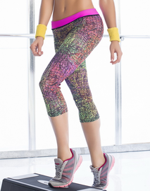 Capri Cutie Work Out Leggings