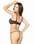 Chic Seduction Sheer Bra & Thong Set