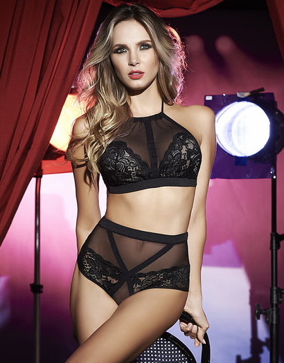 Confidence Boost Lace Bra & High Waist Panty Set