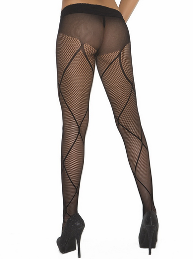 Criss Cross Sexy Pantyhose