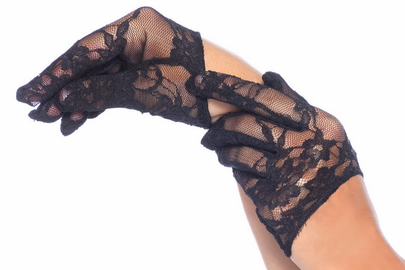 Cropped Lace Gloves