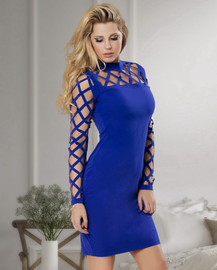 Daring Diva Cut Out Bodycon Dress