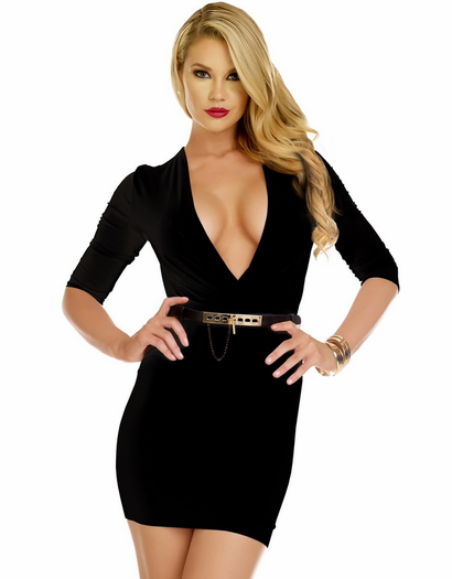 Date Night Darling Sexy Bodycon Dress