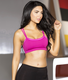 Double Layer Fuchsia Sports Bra