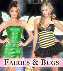 Fairy, Pixie & Bug Costumes