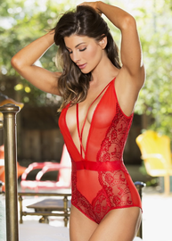 Fall In Love Again Lace Teddy