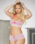 Fall In Love Pink Lace Push Up Bra