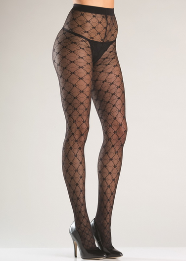 Faux Fishnet Pantyhose