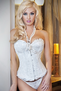 Finally Found You Diva Divine White Corset