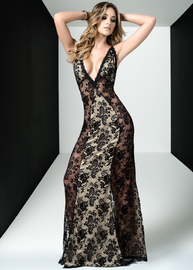 Floral Lace Gown
