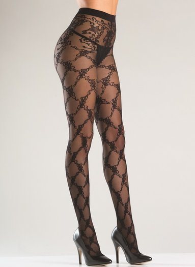 Floral Passion Pantyhose
