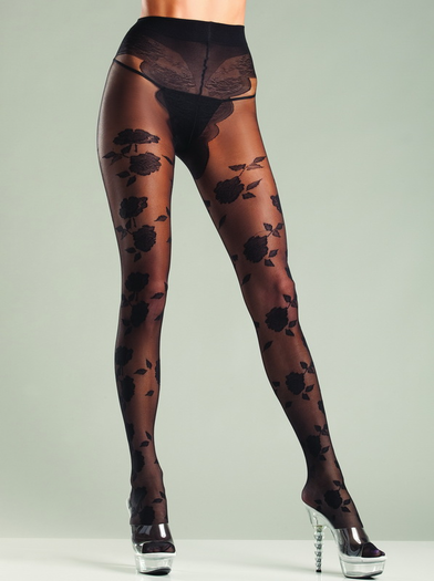Flower French Sexy Pantyhose