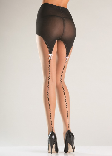 Garterstraps Tights