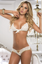 Gift Of Pleasure Lace Bra & Panty Set