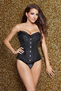Got Us Fallin In Love Black Burlesque Corset