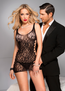 Heart Hottie Sexy Lace Chemise