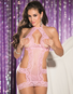 Heart Stopper Stretch Lace Open Bust Chemise