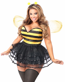 Honey Bee Hottie Corset Costume